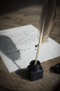 Charlotte Bronte author writing project