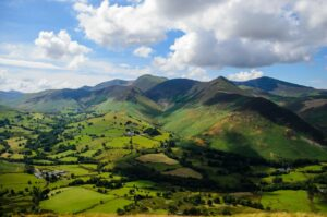Landscape books historical fiction setting The Boy from the Snow the Veiled Wolf Celtic Britain Lake District